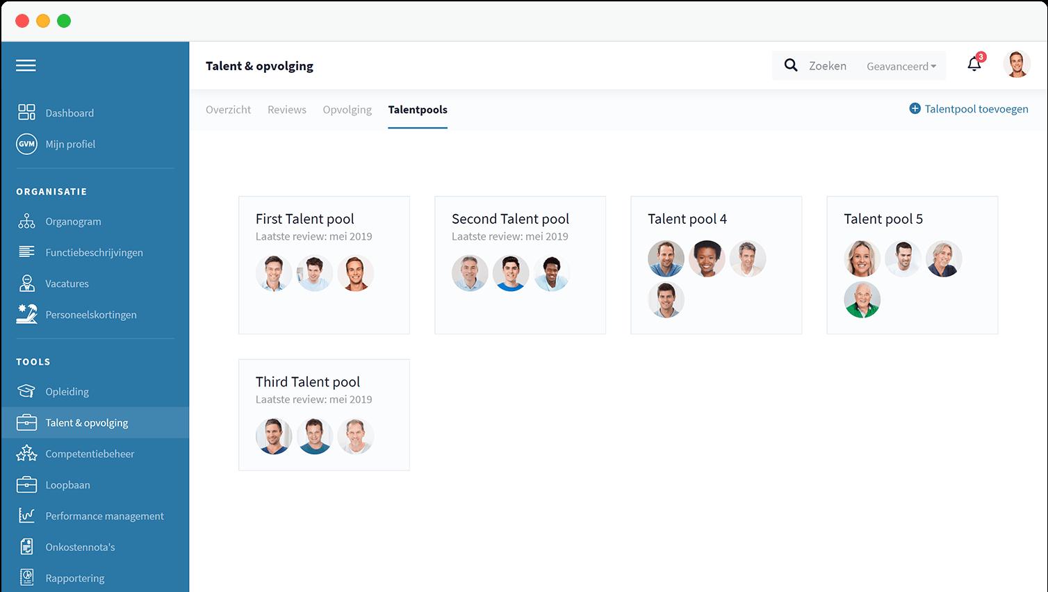 HR Software - Talent management