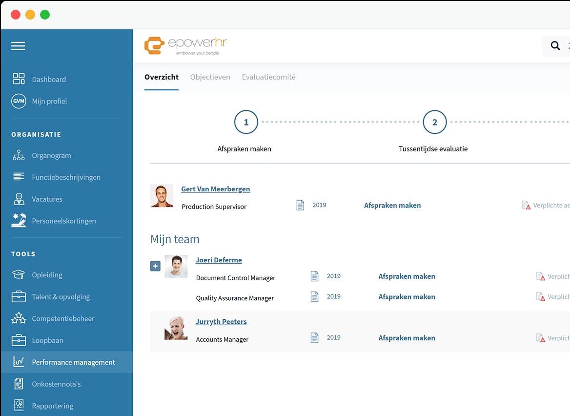 epowerhr - Performance Management Software